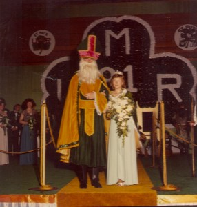 1981 St. Pat and the Queen of Love and Beauty