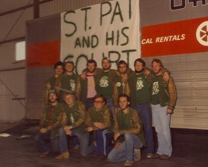 1981 St. Patrick and his Court Informal Photo