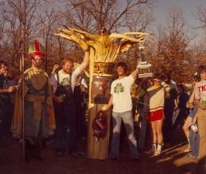 1981 St. Patrick with TKE Cudgel