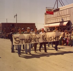 1981 Student Knight Parade Participants