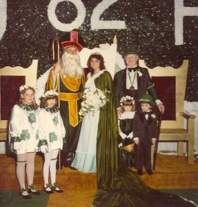 1982 Group Photo of St. Pat and his Queen with coronation Participants