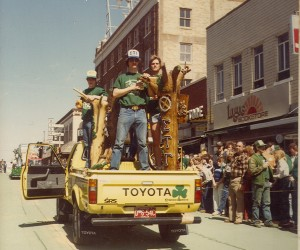 1982 Sigma Tau Gamma Parade Float
