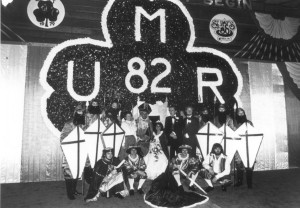 1982 St. Pat and his Court