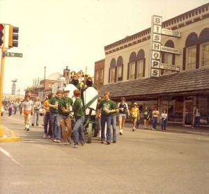 1982 St. Patrick and His Court in the St. Pats Parade