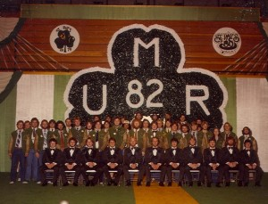 1982 St. Pats Board Group Photo