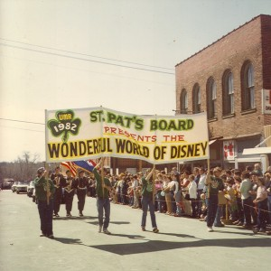 1982 St. Pats Board Presents the Parade Theme WONDERFUL WORLD OF DISNEY