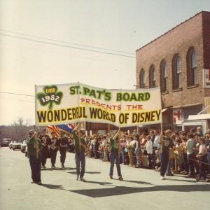 1982 St. Pats Board Presents the Parade Theme WONDERFUL WORLD OF DISNEY