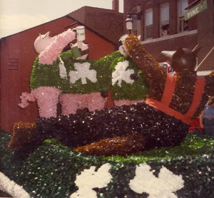 1982 St. Pats Three Pigs Parade Float