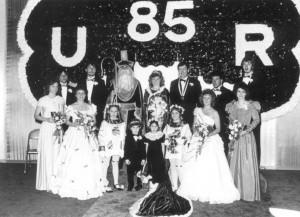 1985 Coronation Ceremony