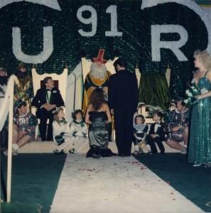1991 Coronation Ceremony