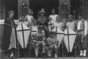 1992 St. Patrick and his Court