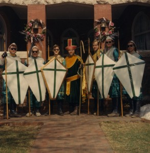 1993 St. Patrick and his Court