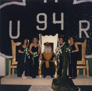 1994 Coronation Photo of St. Pat and his Queens