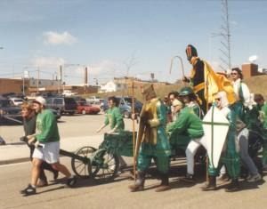 1994 Court Arrival Ceremony