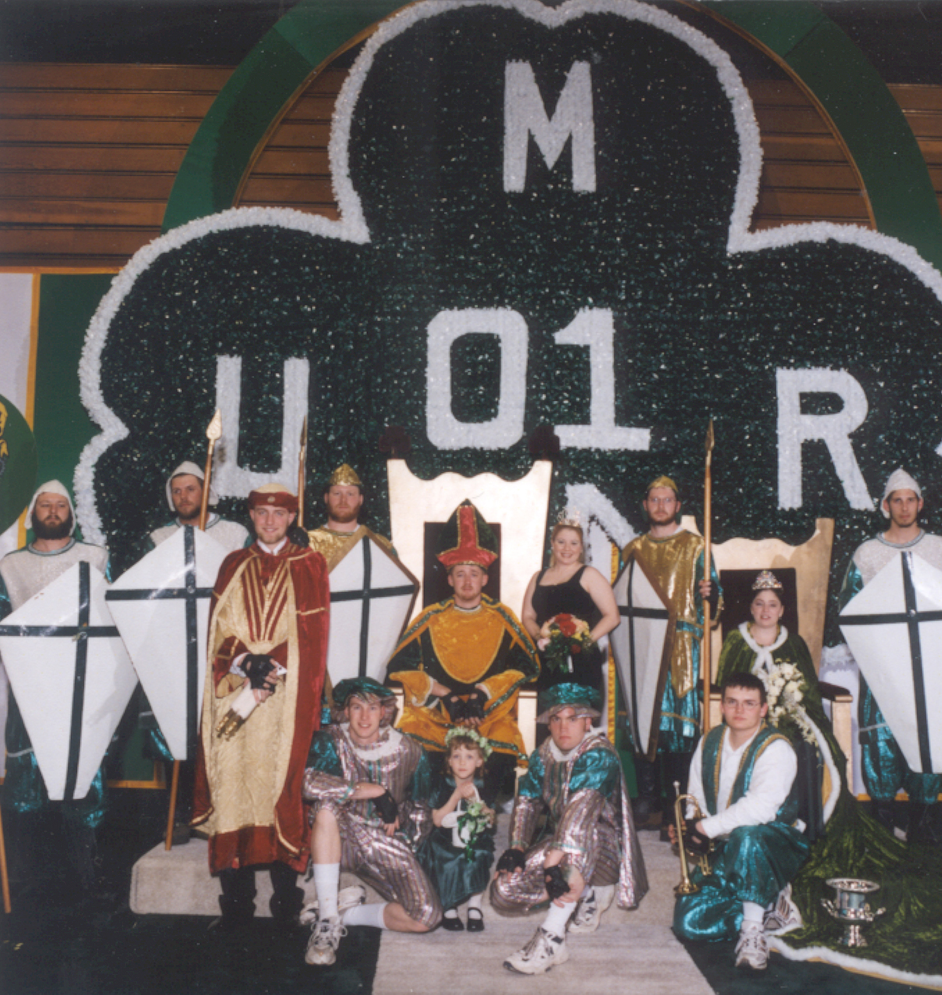 2001 Coronation Ceremony