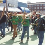 2001 Shilelagh march at the St. Pats Parade