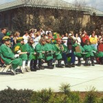 2001 St. Pat and his Court attending Follies