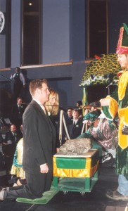 2002 Coronation Ceremony