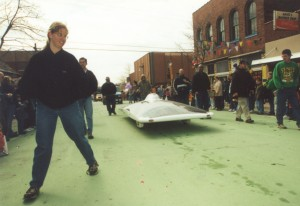 2002 Solar Car Float in the St. Pats Parade