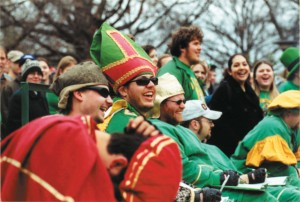 2002 St. Pat and his Court at Follies