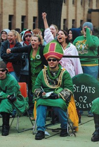 2002 St. Pat at the Puck for Follies