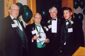 2002 St. Pat receiving Award