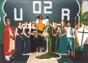 2002 St. Patrick and his Court