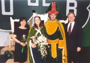 2002 St. Patrick and the Queen of Love and Beauty