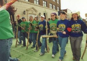2002 Walking Sticks in the St. Pats Parade