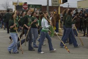 2006 Parade walking sticks