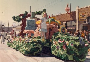 Alice in Wonderland Float