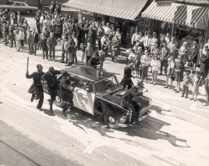 Police in the Parade
