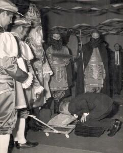 St. Pat Knighting at Coronation
