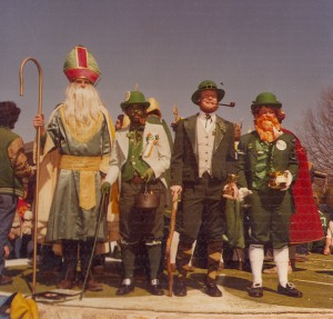 St. Pat with Leprechauns