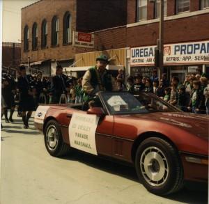 St. Pats Parade float