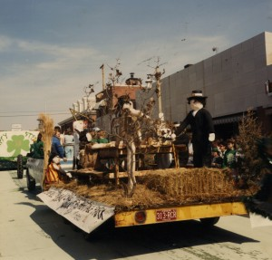 St. Pats Parade float