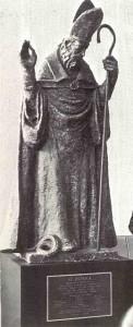 St. Pats Statue