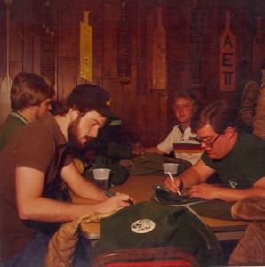 Writing on St. Pats Board Jackets