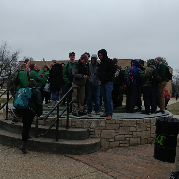 St. Pats Reps and Friends Sing Daze Song