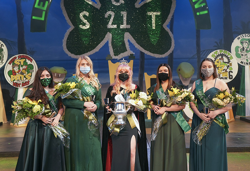 2021 St. Pat's Queen of Love and Beauty